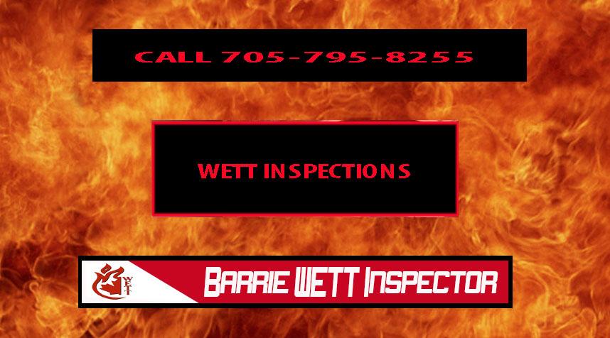 Barrie WETT Inspections